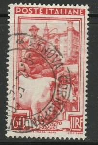 Italy Republic 1950 60L Winged Wheel Used A16P52F142