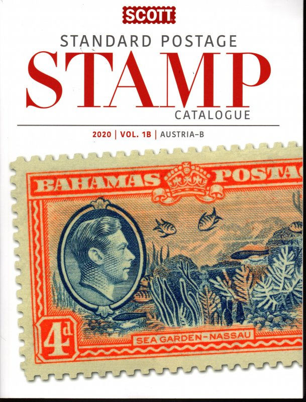 2020 Scott  Stamp Catalogue, Vol. 1A & 1B