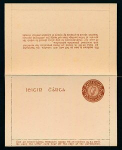 IRELAND Mi. K4a UNUSED POSTAL STATIONERY LETTER CARD,