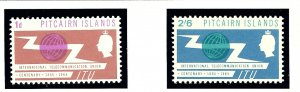 Pitcairn Is 52-53 MNH 1965 Intl Telecommunications Year