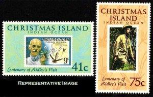 Christmas Islands Scott 275-276 Mint never hinged.