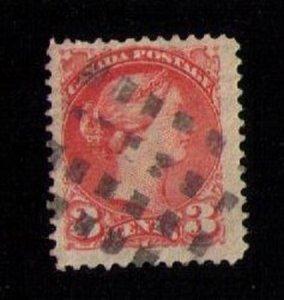 Canada Sc #37b Used F-VF