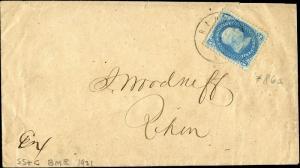 #86 E GRILL ON COVER TIED ON LOCAL LIGHT CDS; XF CV $625.00 BN9756
