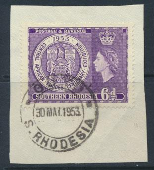 Southern Rhodesia  SG 76  Mint very light trace of Hinge
