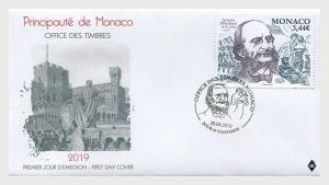 H01 Monaco 2019  Bicentenary of the Birth of Jacques Offenbach FDC