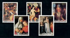 [100069] Yugoslavia 1983 Art Paintings Bruegel Durer  MNH