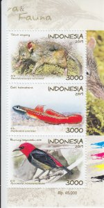 2019 Indonesia  Fauna Recently Discovered VS3 (Scott NA) MNH
