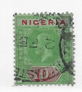 Nigeria #17 Thins - Used - Stamp CAT VALUE $168.00