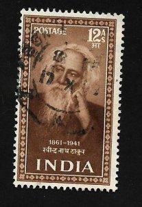 India 1952 - U - Scott #242