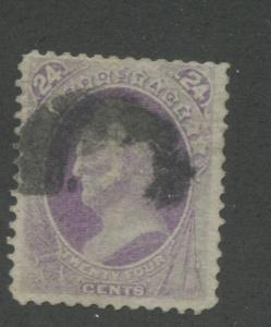 1870 US Stamp #153 24c Used F/VF Canceled Catalogue Value $210