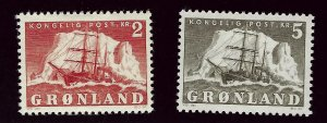 Greenland #37-38 Mint F-VF.. Popular Country!
