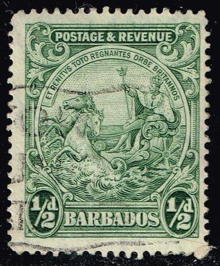 Barbados #166 Seal of the Colony; Used (0.25)