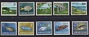 STAMP STATION PERTH Norfolk Island #49-60 Set MNH- CV$18.00