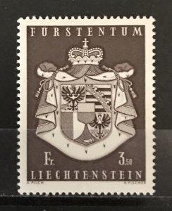 Liechtenstein 1968 #452, MNH, CV $2.50