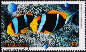 Australia. 2010 $3 Fine Used