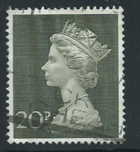 GB QE  II  SG 830  Fine   Used