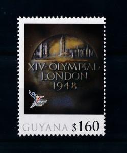 [78007] Guyana 2010 Olympic Games London  MNH