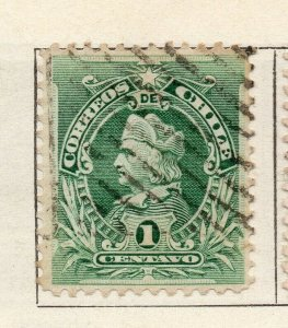 Chile 1901 Early Issue Fine Used 1c. NW-11413