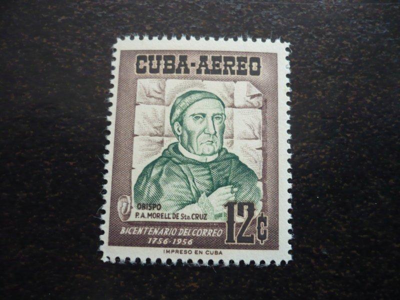 Stamps - Cuba - Scott# C129 - Mint Hinged Single Stamp