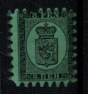 Finland Scott 7b Mint hinged full OG (Catalog Value $400.00)