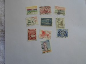 DENMARK STAMPS, LOT OF 10 STAMPS # 3