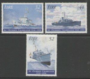 IRELAND SG1013/5 1996 ANNIVERSAY OF NAVAL SERVICE MNH