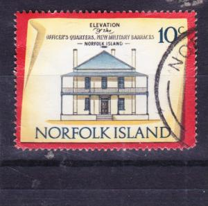 Norfolk Island 1973 Historic Buildings 10c used