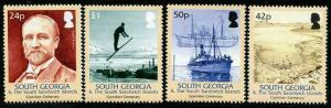 HERRICKSTAMP SOUTH GEORGIA Sc.# 320-23 Grytviken