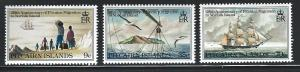 Pitcairn Island  mnh sc 203 - 205