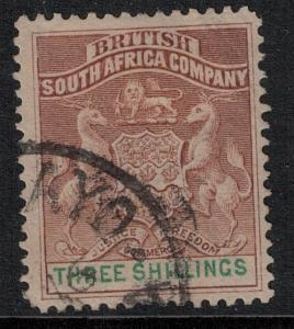 Rhodesia 1890-1894 SC 12 Mint SVC 100.00 Stamp