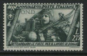 Italy 1932 Fascist 2.75 lire mint o.g. hinged