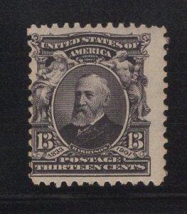 US Stamp Scott #308 Mint Never Hinged SCV $100