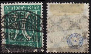 GERMANY REICH [1921] MiNr 0181 ( O/used ) [01] geprüft