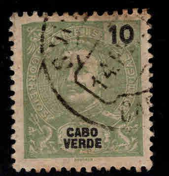 Cabo or Cape Verde Scott 38 Used stamp