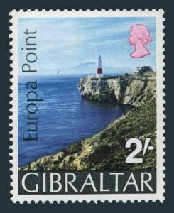 Gibraltar 233 two stamps,MNH.Michel 236. EUROPA POINT 1970.Lighthouse.
