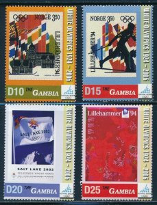 Gambia -Turin Olympic Games Sports Stamps Set (2006)