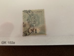 Straits Settlement 123 U