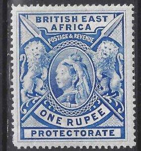 British East Africa 1898 SC 102 MLH SCV $102.00