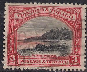 Trinidad & Tobago 1935 - 37 KGV 3ct Mt Irvine SG 232a ( L1437 )