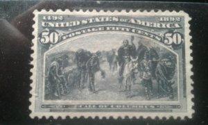 US #240 used thin e197.4637