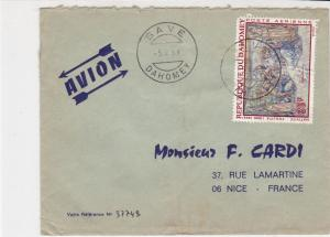 Rep Du Dahomey1969 Airmail Save Dahomey Cancels Nativity Stamp Cover Ref 30674