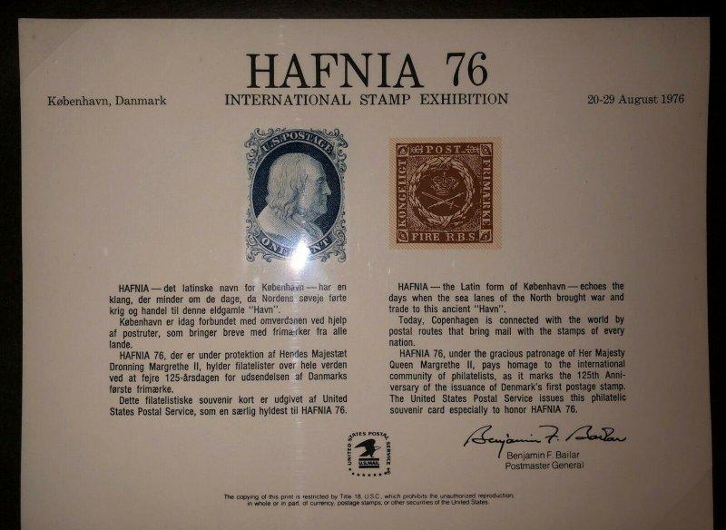 Large binder of USPS & Bureau of Engraving & Printing Souvenir Cards 32 CARD LOT