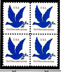 2877 Mint,OG,NH... Block of 4... SCV $1.00