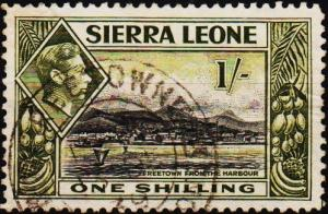 Sierra Leone. 1938 1s S.G.196 Fine Used