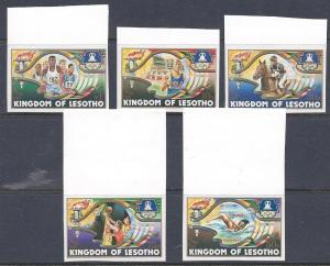 Lesotho Scott # 439 - 443 MNH Imperf