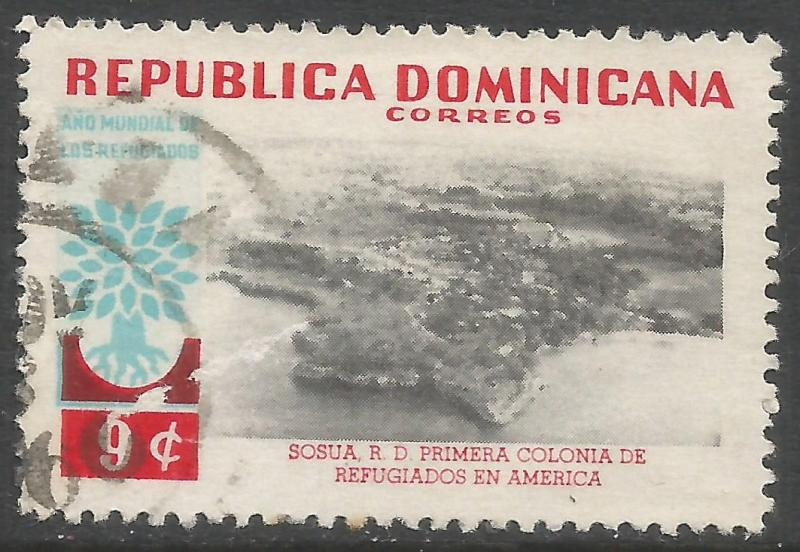 DOMINICAN REPUBLIC 523 VFU Z1136-1