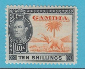 GAMBIA 143 MINT HINGED OG * NO FAULTS EXTRA FINE !