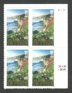 3438 California Statehood Plate Block Mint/nh FREE SHIPPING