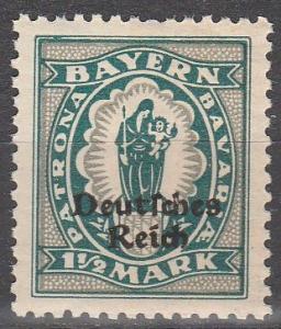 Bavaria #268 MNH   (S6115)