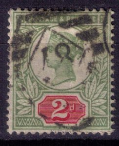 Great Britain Sc #113 2p Green & Carmine Rose Very Fine